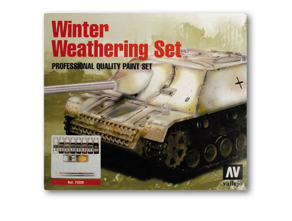 Vallejo Model Colour Winter Weathering Set