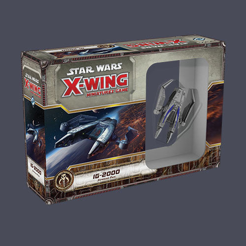 Star Wars X Wing IG-2000 Expansion Set