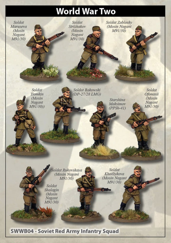 Artizan Designs Soviet Red Army Squad