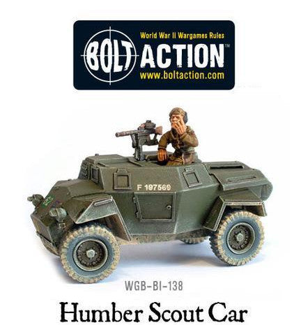 Bolt Action British Humber Scout Car