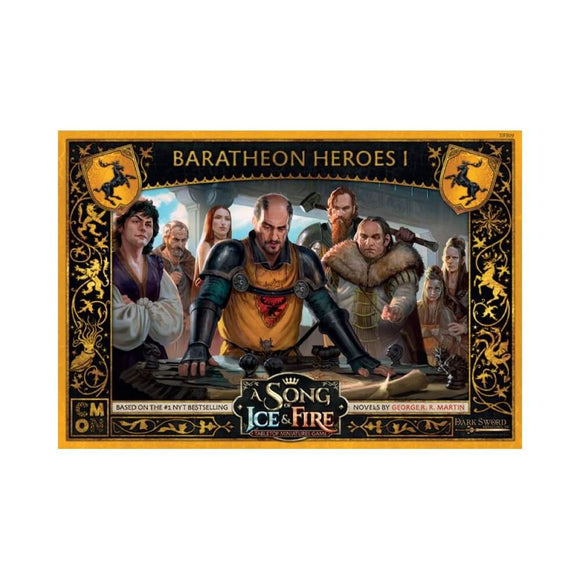 A Song of Ice and Fire Baratheon Heroes Set 1 Expansion
