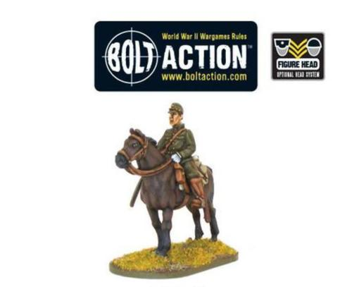 Bolt Action Baron Nishi Japanese Officer On Horse
