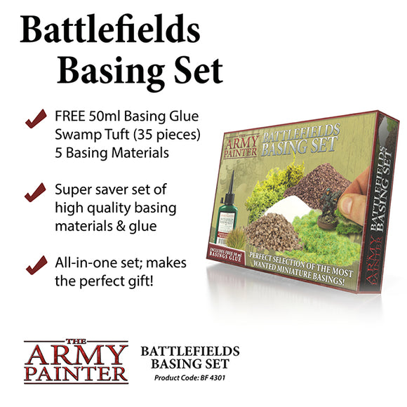 The Army Painter Battlefields Basing Starter Set