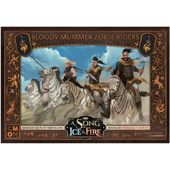 A Song of Ice and Fire Bloody Mummer Zorse Riders