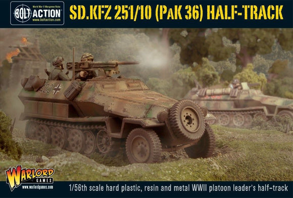 Warlord Games Bolt Action German SD.KFZ 251/10 Pak 36 Half Track