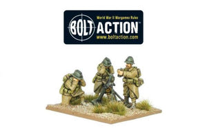 Bolt Action Early War French 81mm Mortar Team
