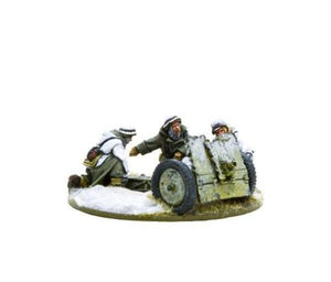 Warlord Games Bolt Action German Heer 7.5cm LelG 18 Light Artillery Winter