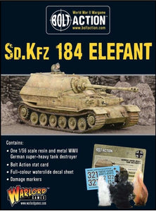 Bolt Action German Sd.Kfz 184 Elefant Heavy Tank Destroyer