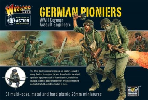 Bolt Action German Pioniers Infantry Set