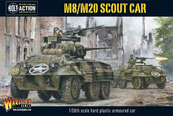 Warlord Games Bolt Action M8 M20 Greyhound Scout Car