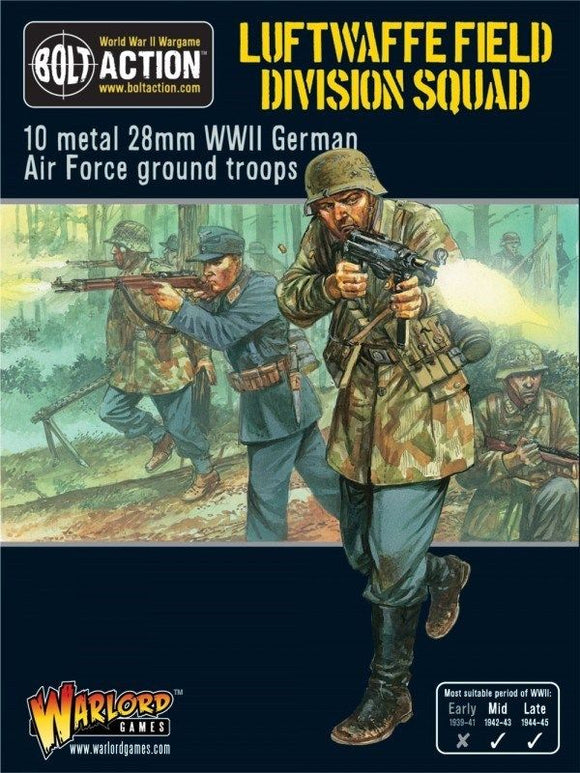 Bolt Action German Luftwaffe Field Division Squad