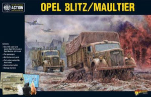 Warlord Games Bolt Action Opel Blitz Maultier