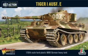 Bolt Action German Tiger I  Ausf E Tank