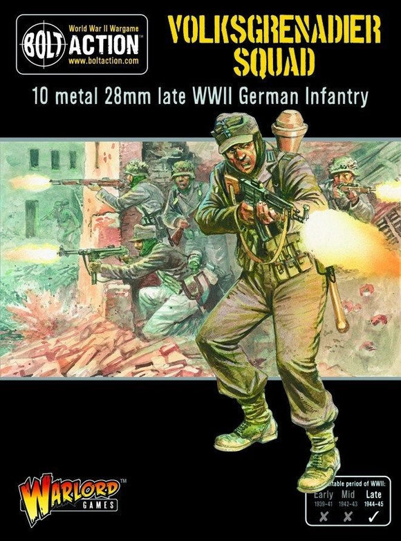 Bolt Action German Volksgrenadiers Squad