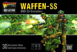 Bolt Action German Waffen SS Plastic Box Set