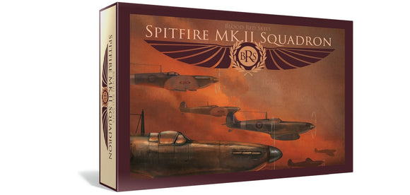 Warlord Games Blood Red Skies Spitfire Squadron 6 Planes