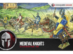 Conquest Games Plastic Medieval Knights