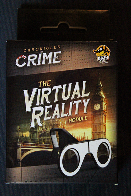 Chronicles of Crime Glasses and Exclusive Scenario