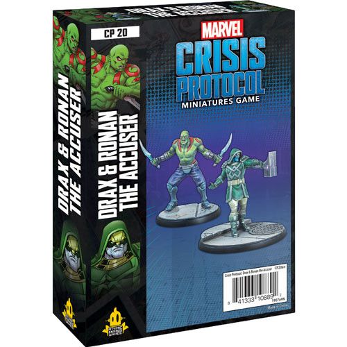 Marvel Crisis Protocol Miniatures Game Drax & Ronan The Accuser