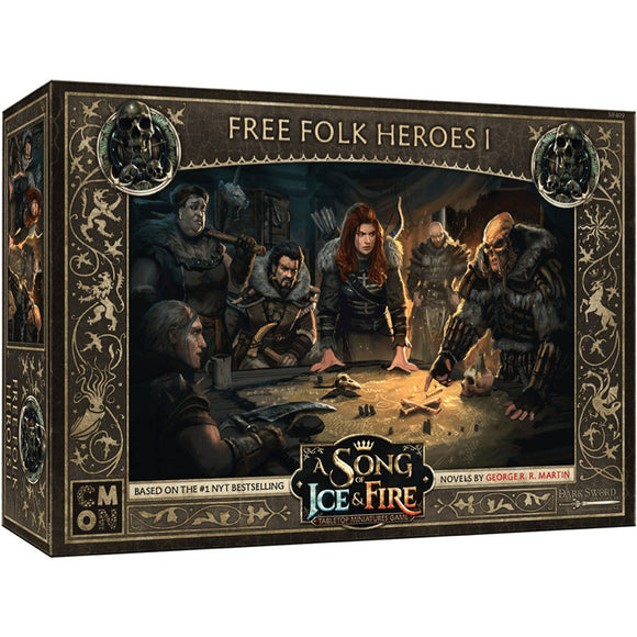 A Song of Ice and Fire Miniatures Game Free Folk Heroes Box Set 1