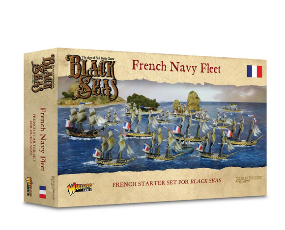 Warlord Games Black Seas French Navy Fleet