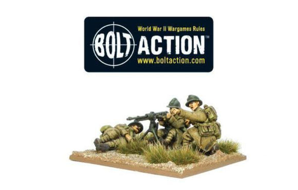 Bolt Action Early War French MMG Team