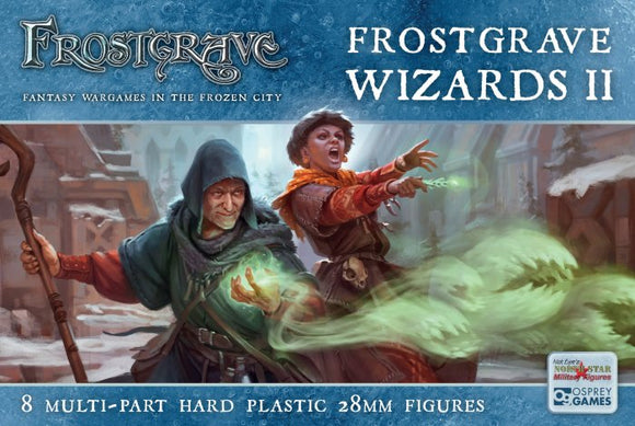 Frostgrave Wizards II Female Wizards