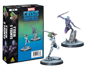 Marvel Crisis Protocol Miniatures Game Gamora & Nebula Expansion