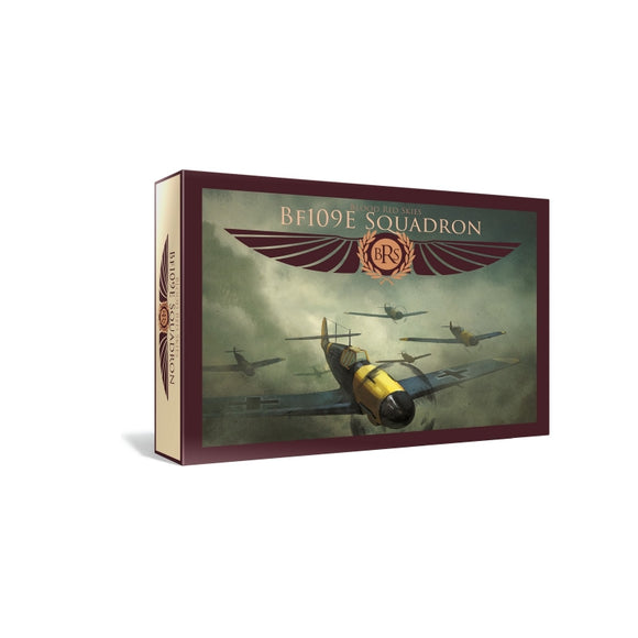 Warlord Games Blood Red Skies German BF ME-109 Squadron 6 Planes