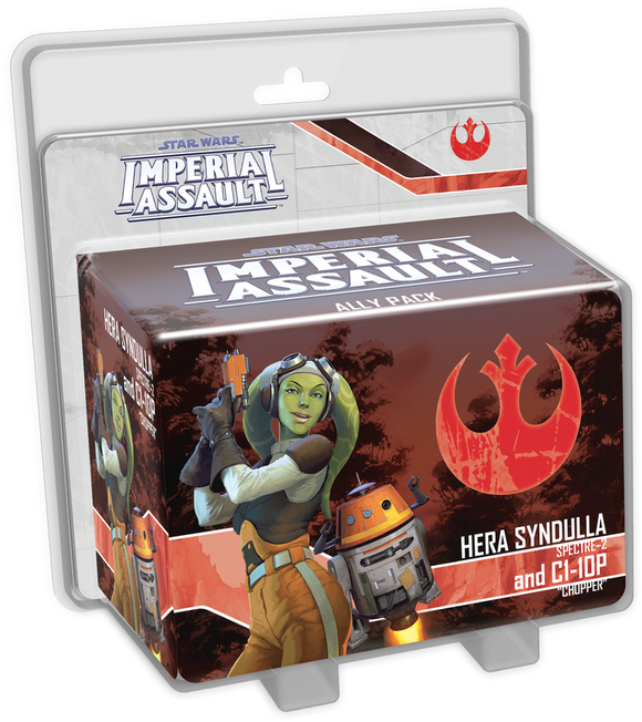 Star Wars Imperial Assault Hera Syndulla & C1-10P Ally Pack