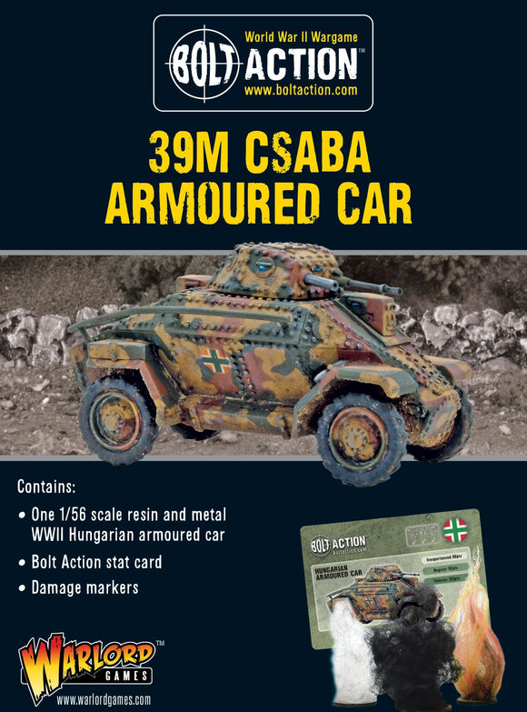 Warlord Games Hungarian 39M Csaba Armoured Car