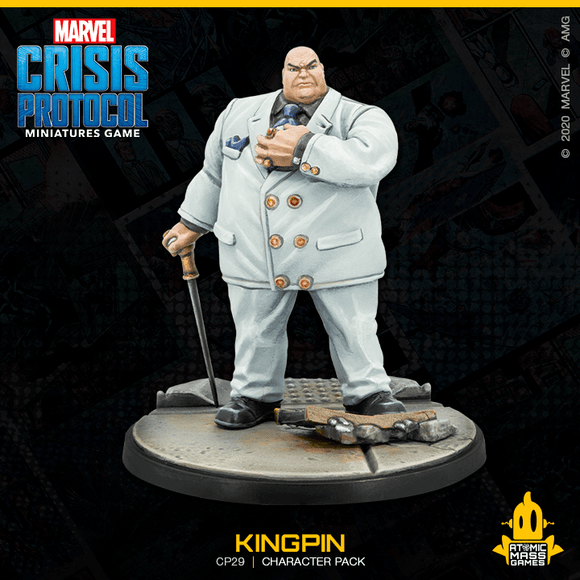 Marvel Crisis Protocol Miniatures Game Kingpin