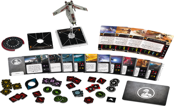 Star Wars X-Wing 2nd Edition LAAT/i Gunship Expansion