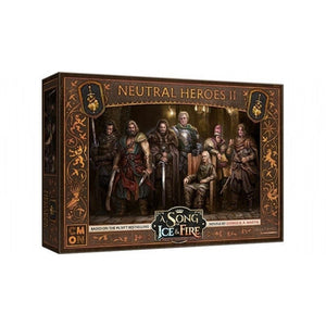 A Song of Ice and Fire Neutral Heroes Box 2 Expansion