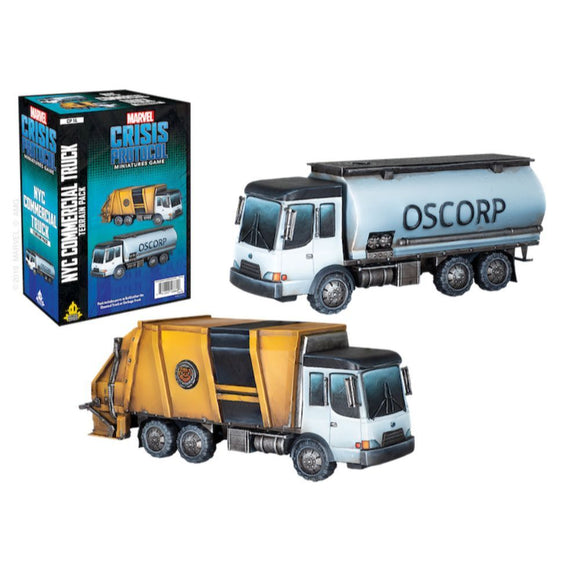 Marvel Crisis Protocol Miniatures Game NYC Commercial Truck Terrain Pack