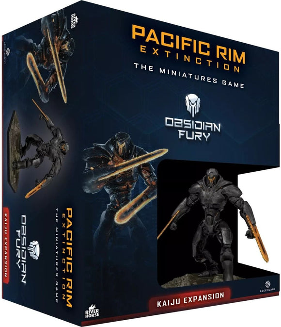 Pacific Rim Extinction Obsidian Fury Kaiju Expansion