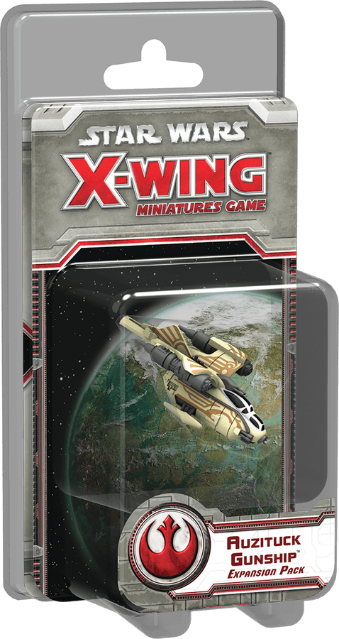 Star Wars X-Wing Auzituck Gunship Expansion Set
