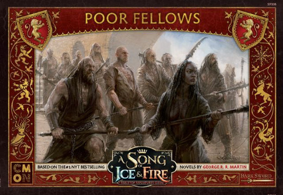 A Song of Ice and Fire Miniatures Game Poor Fellows