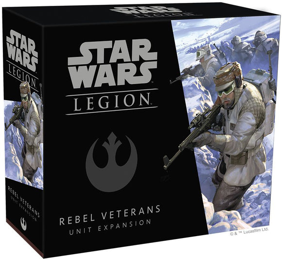 Star Wars Legion Rebel Veterans Expansion Set