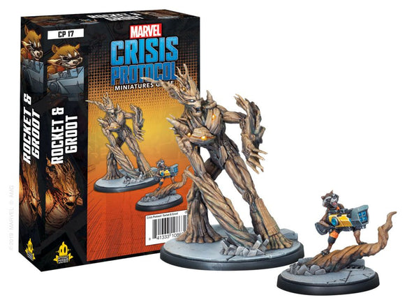 Marvel Crisis Protocol Miniatures Game Rocket & Groot Expansion
