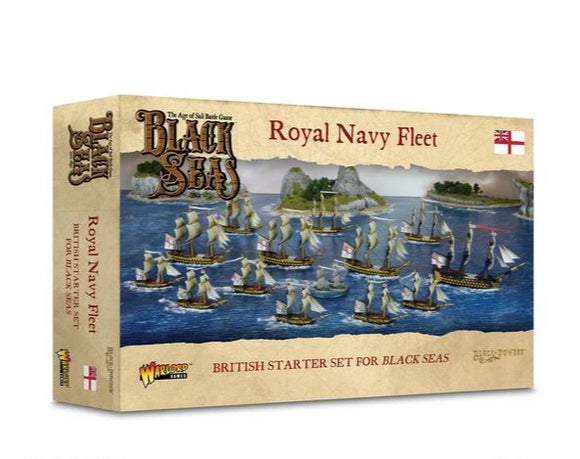 Warlord Games Black Seas Royal Navy Fleet