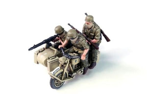 Rubicon Models German R75 Motorcycle With Sidecar DAK