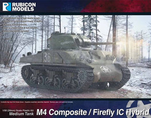 Rubicon Models M4 Sherman Composite or Firefly IC Hybrid