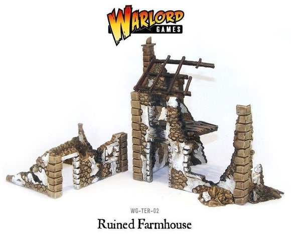 Warlord Games Bolt Action Ruined Farmhouse WG-TER-02