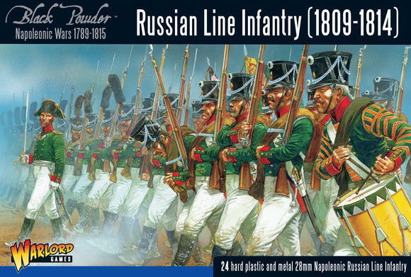 Warlord Games Russian Napoleonic Infantry 1809-1814
