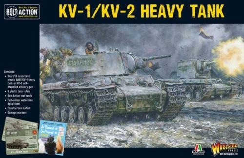 Bolt Action Soviet KV1/KV2 Heavy Tank