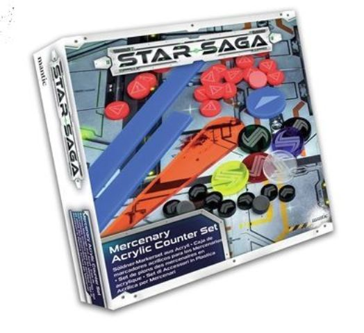Star Saga Player Acrylic Counter Set