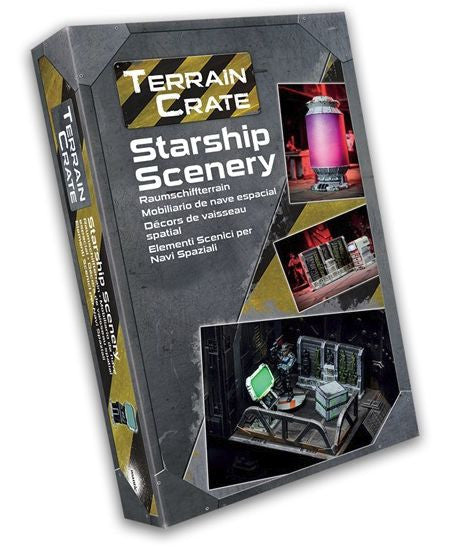 Terrain Crate Starship Scenery Set