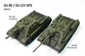 Rubicon Models SU-85/SU-122 Soviet Self Propelled Gun