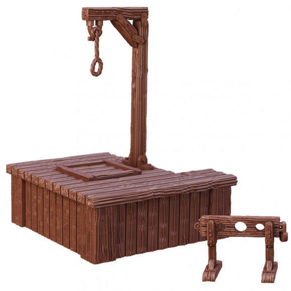 Terrain Crate Gallows & Stocks
